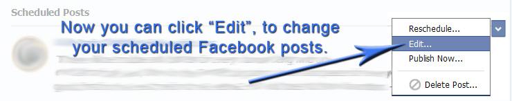 Scheduled Facebook Posts: How to Edit a Scheduled Post in 7 Simple Steps