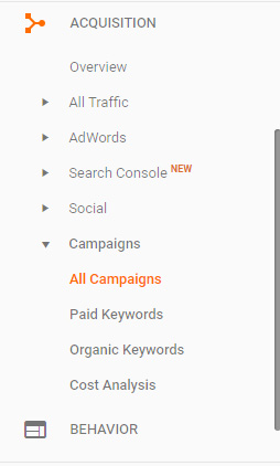 Google Analytics Campaign Report