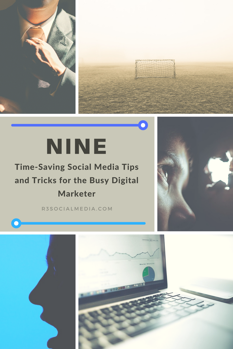 9 time-saving social media tips and tricks image